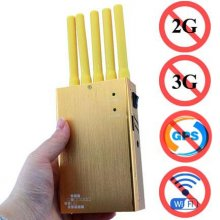N5 5 Bands All GPS 2G 3G 4G Jammer Handheld