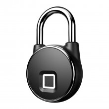 P22 USB Rechargeable Smart Keyless Fingerprint Lock -Black