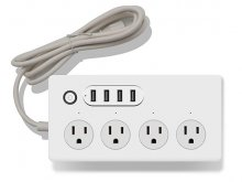 US-P702 Smart Power Strip WiFi Power Strip Surge Protector Smart Controlled