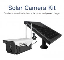 F21 Outdoor Solar WIFI Camera Solar Panel Powered PIR Motion Detection support SD card & Free Cloud Storage HD IP Camera