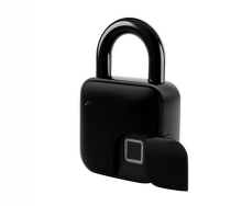 L3 Bluetooth Smart Fingerprint Padlock Biometric Waterproof Lock with Finger Print Security Touch Keyless Lock USB charge for Gym Locker