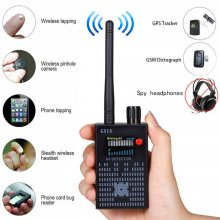 G318 Bug Detector Anti Spy Amplification Signal Detector Spy Bug Camera Wireless Detectors GPS RF Scanner Finder