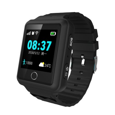 V38 Personal Smart watch GPS Tracker RF-V38 Waterproof Geo-fence SOS alarm Two-way audio communication Historical route playback