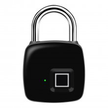 P3+ Bluetooth Smart Keyless Fingerprint Lock - IP66 Waterproof, Electronic Anti-theft Security Padlock