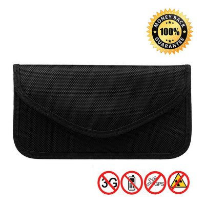 PB06 Signal Blocking Faraday Bag,Anti-Radiation,Anti-Hacking,Tracking, Spying for Cell Phones,GPS, RFID,Car Key FOB,EMF case