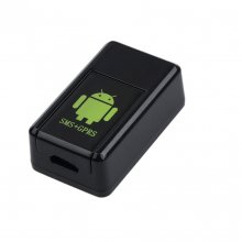 GF-08 Mini GPS Tracker Car GSM/ GPRS/GPS Real Time Tracking Locator Device Anti-Lost Device Support Voice Activated Adapter