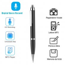 W11 Mini Professional Digital Voice Recorder Remote HD Recording Pen Audio Recorder Noise Reduction 8G MP3 Player