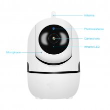 2Y 1080P WiFi Wireless IP Camera Security Home Network Video Surveillance Night Vision Smart pet camera Indoor Baby Monitor